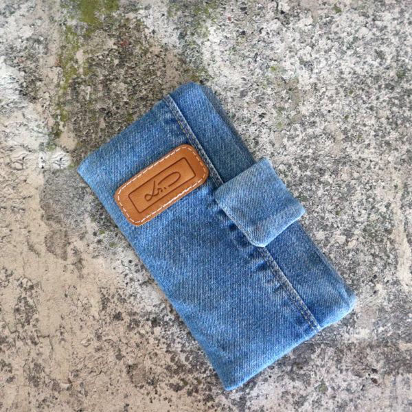 Jeans Geldbörse groß