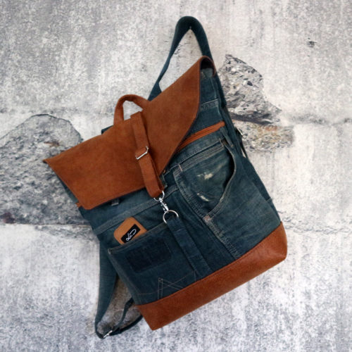 Rucksack Jeansupcycling