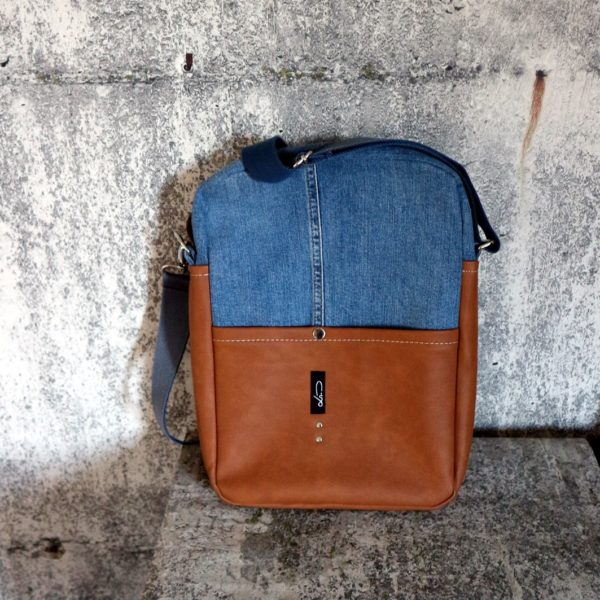 Jeansupcycling Messengerbag