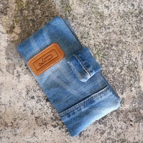 Jeansgeldbörse blau