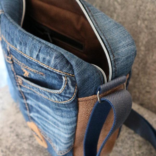 Jeansupcyclingtasche A4