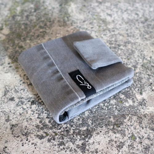 JeansGeldbörse grau